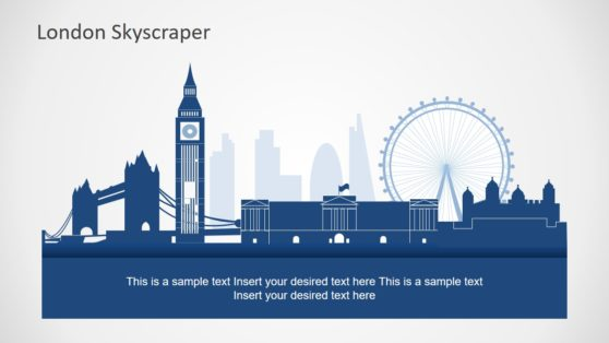 Cityscape PowerPoint Map London