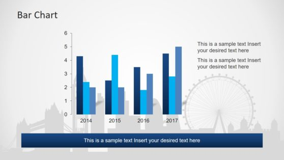 Bar Chart PowerPoint for London