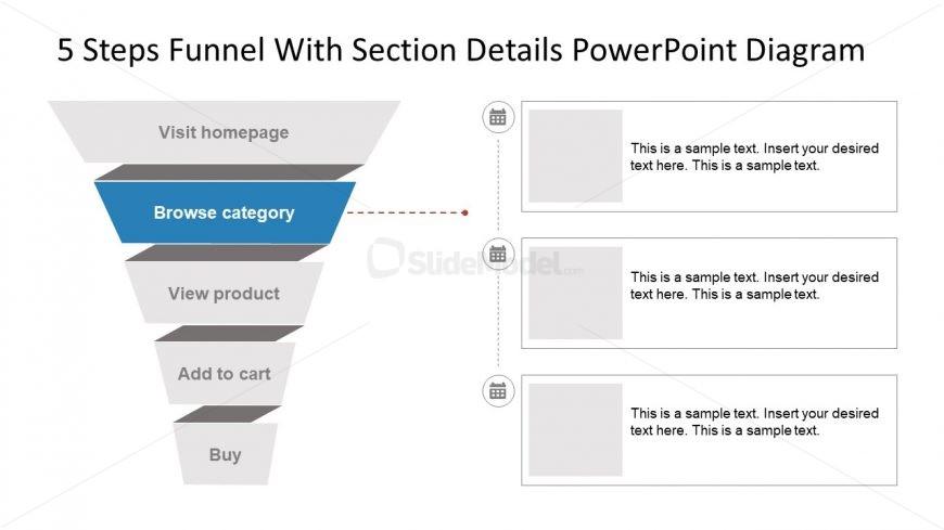 Marketing Funnel Diagram Template