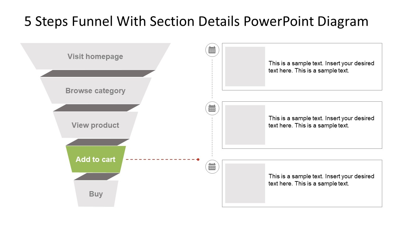 PowerPoint Editable Funnel Graphics
