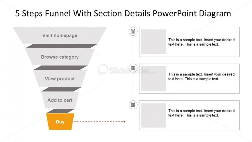 Sales Funnel PowerPoint Diagram