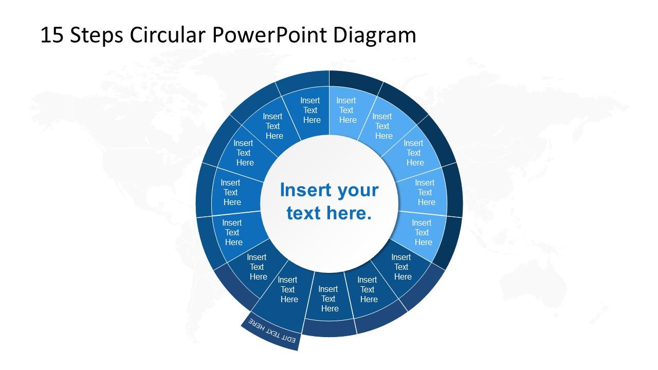 PowerPoint Circular Diagram Step 9