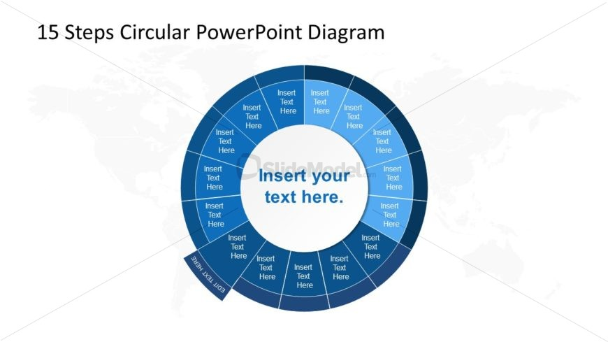 PowerPoint Circular Diagram Step 10