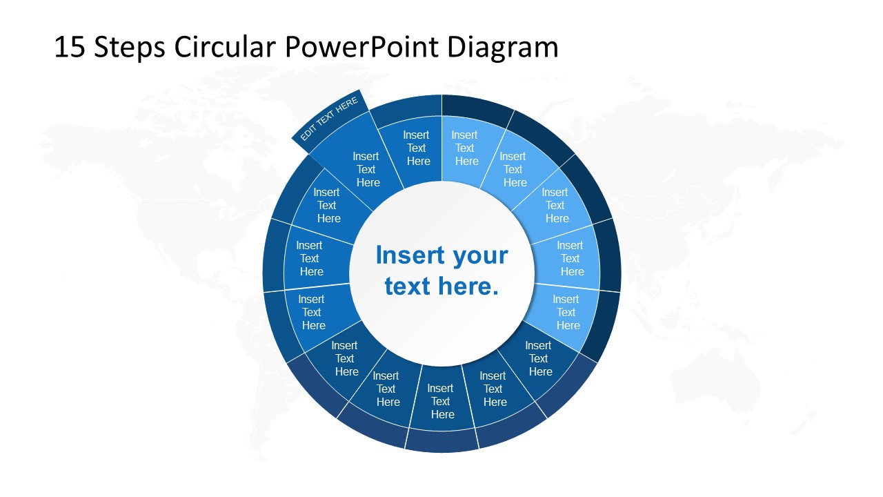 PowerPoint Circular Diagram Step 14