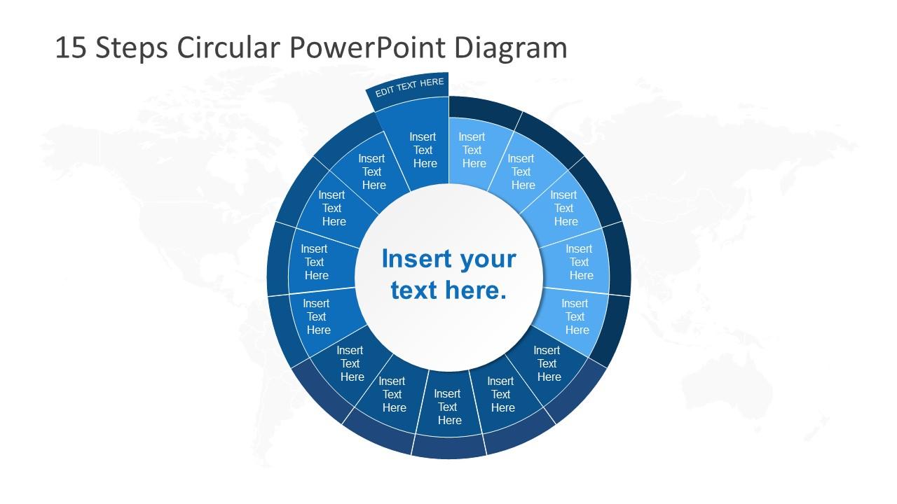 PowerPoint Circular Diagram Step 15