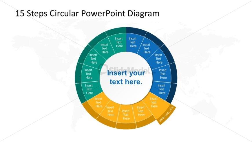 Step 6 Circular PowerPoint Diagram