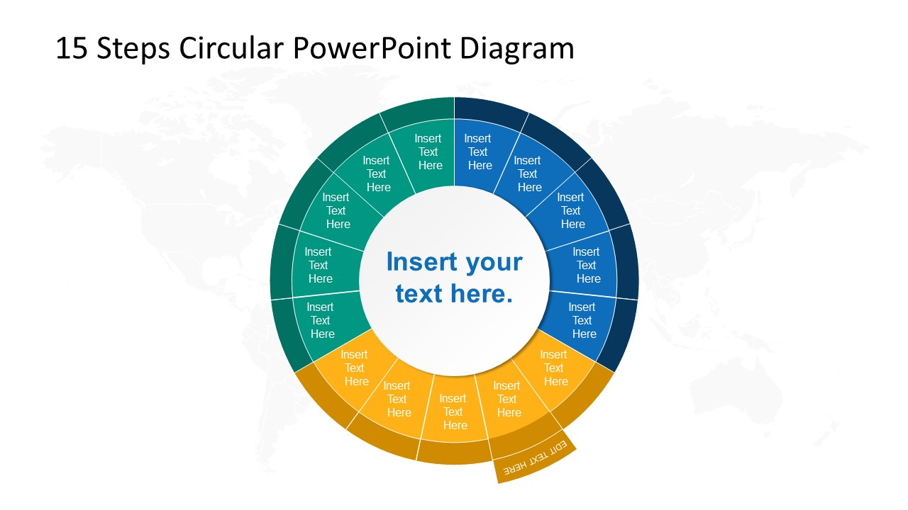Step 7 Circular PowerPoint Diagram