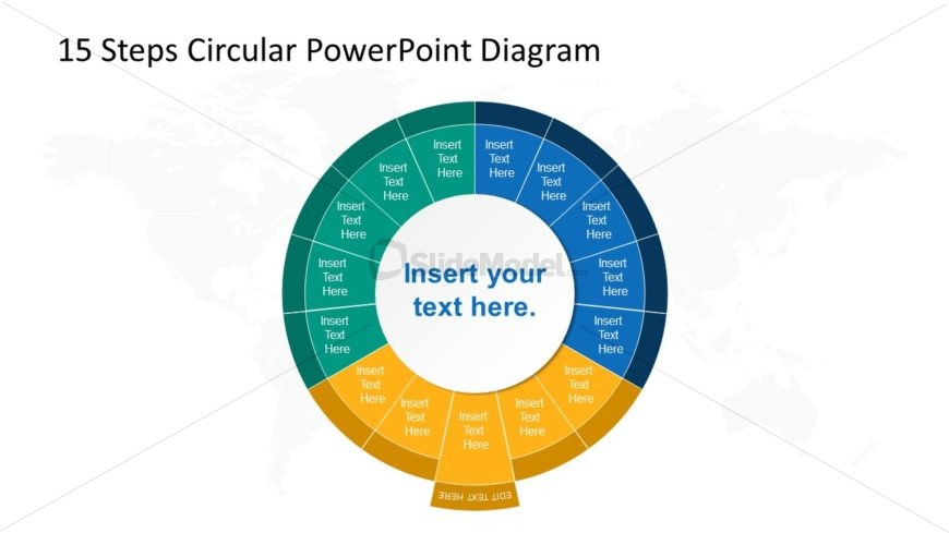 Step 8 Circular PowerPoint Diagram