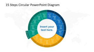 Step 11 Circular PowerPoint Diagram