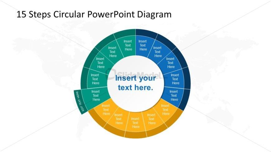 Step 11 Circular PowerPoint Diagram
