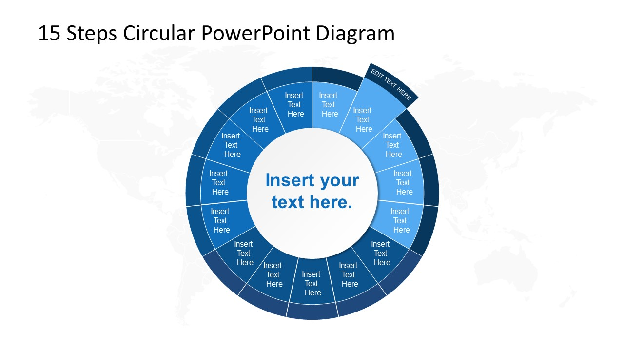 PowerPoint Circular Diagram Step 2