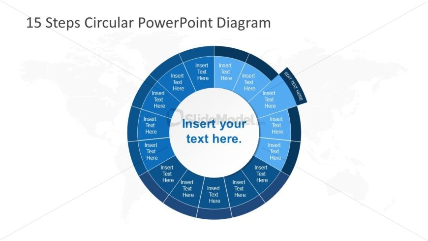 PowerPoint Circular Diagram Step 3