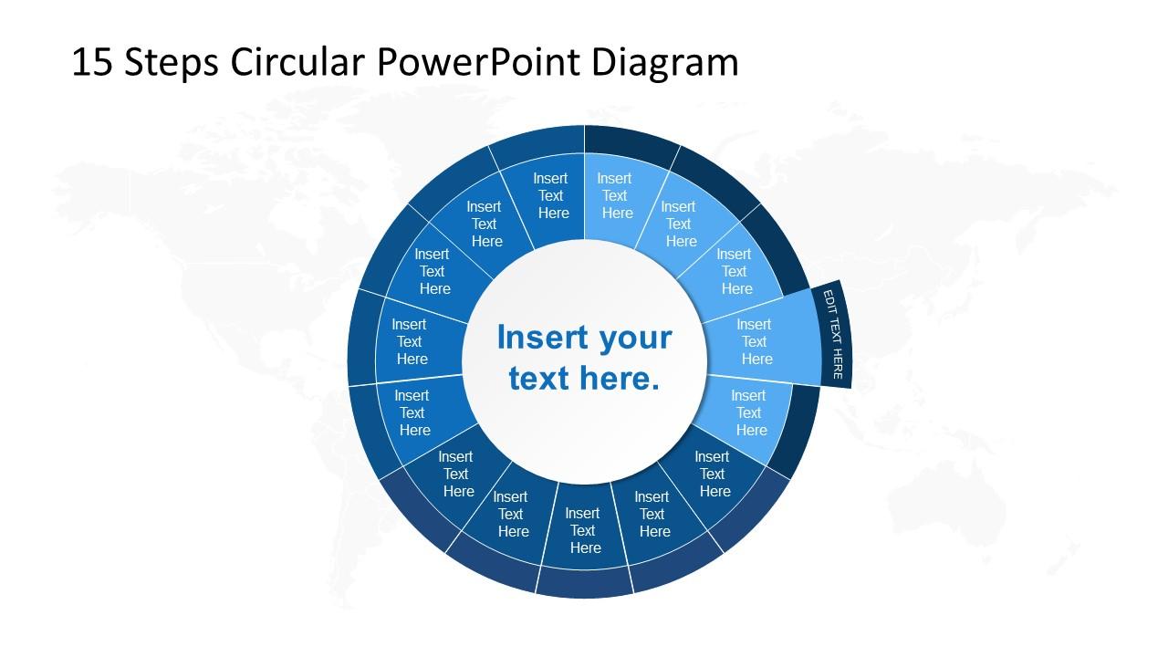 PowerPoint Circular Diagram Step 4