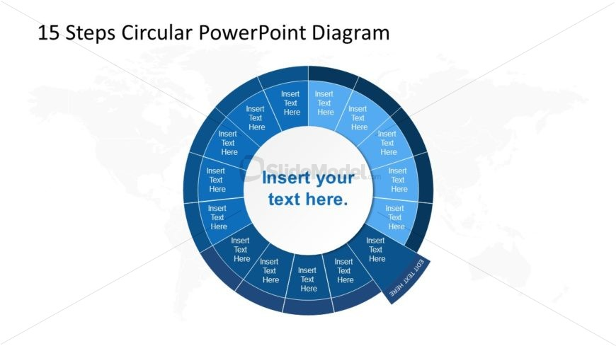 PowerPoint Circular Diagram Step 6