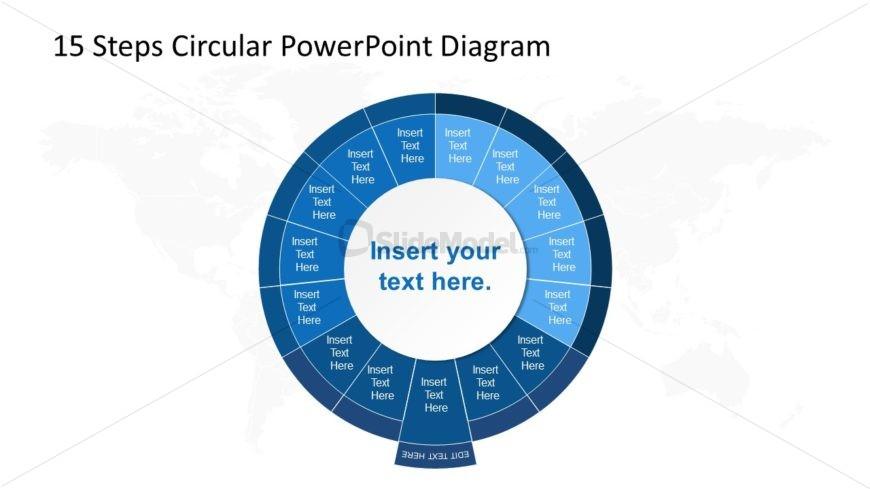 PowerPoint Circular Diagram Step 8