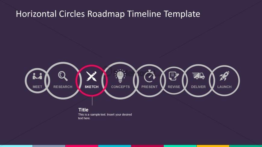 Business Timeline 8 Steps Infographic