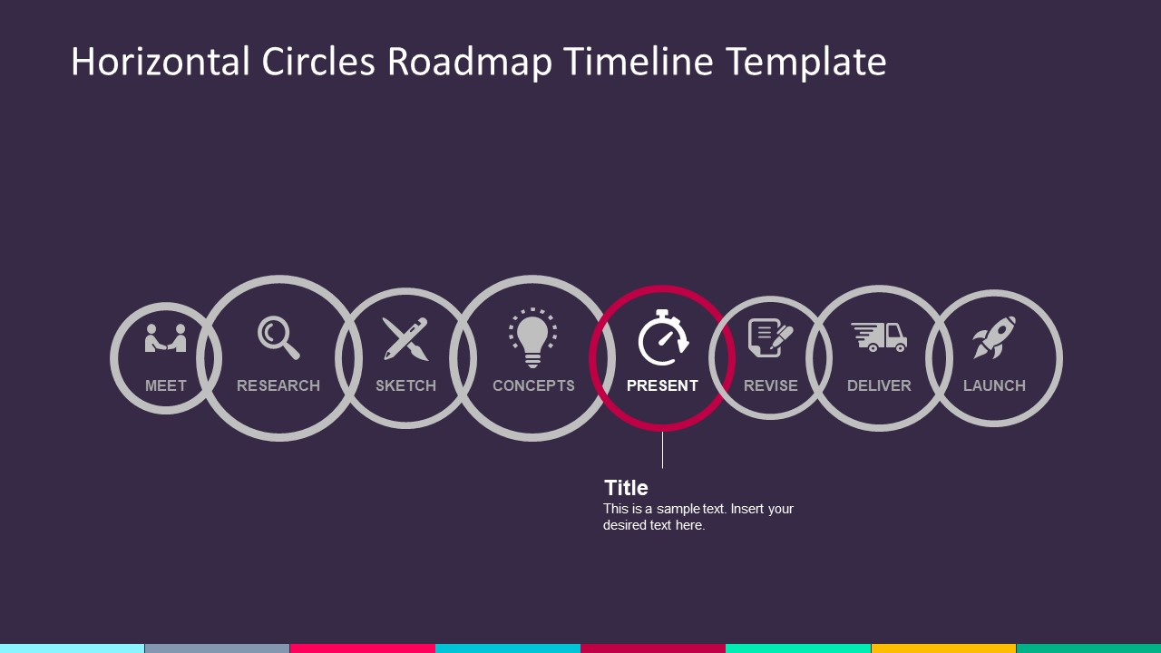 Modern Infographic Timeline PowerPoint