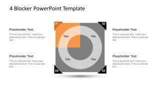 4 Blocker Style PowerPoint Slide 13