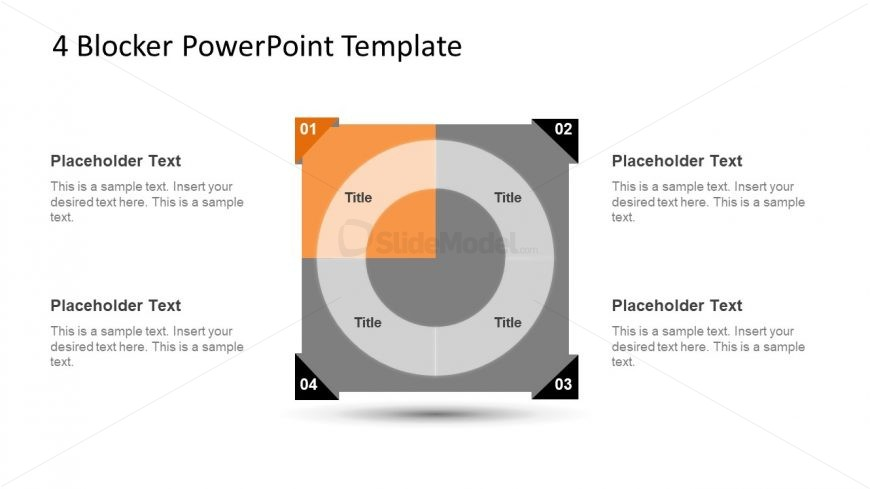 4 Blocker Style PowerPoint Slide 13