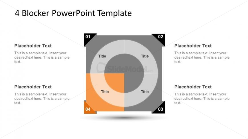 4 Blocker Style PowerPoint Slide 16