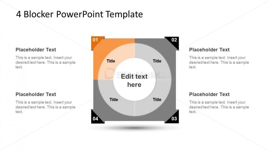 4 Blocker Style PowerPoint Slide 17