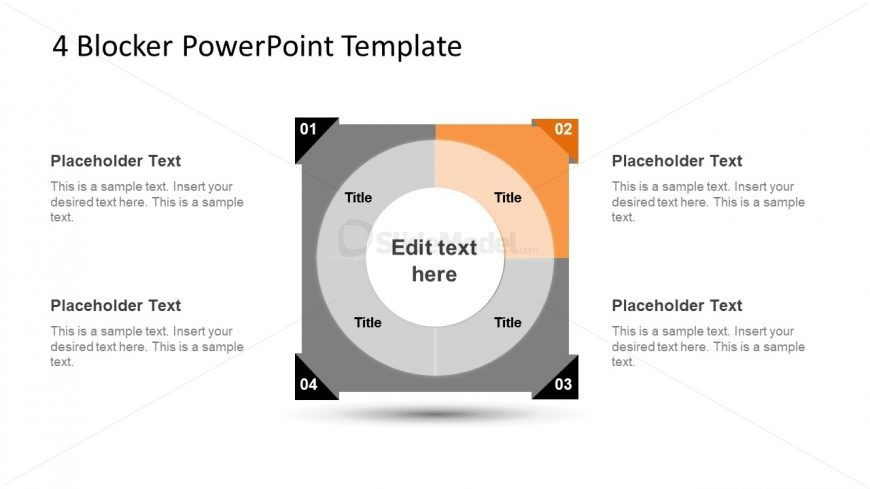 4 Blocker Style PowerPoint Slide 18