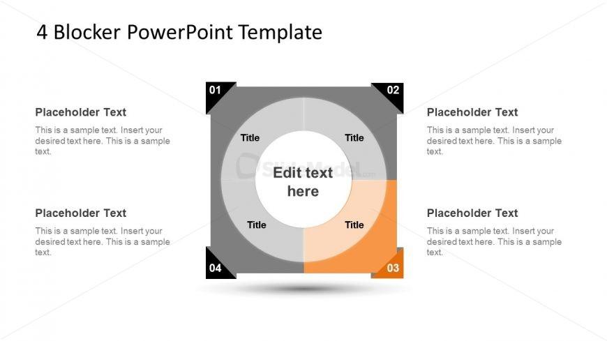 4 Blocker Style PowerPoint Slide 19