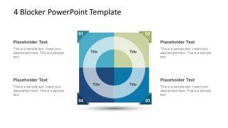 4 Blocker Style PowerPoint Slide 3