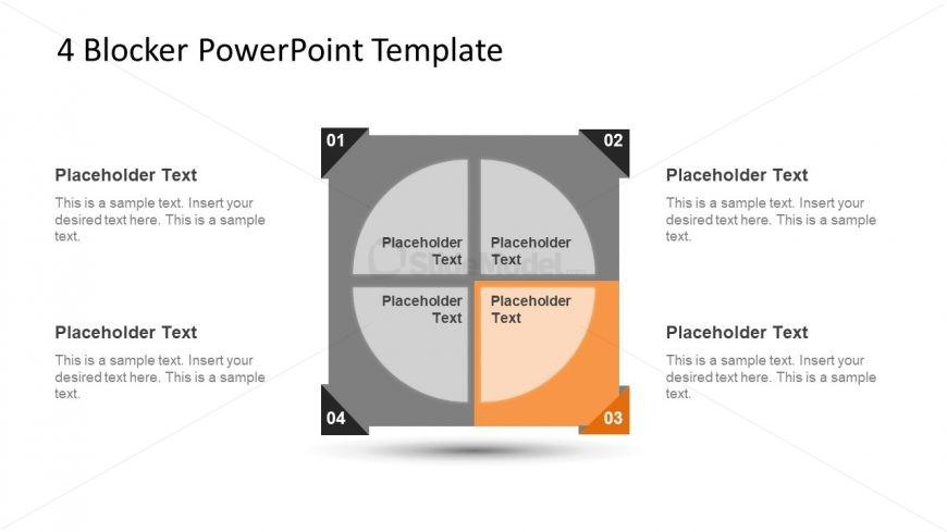4 Blocker Style PowerPoint Slide 7