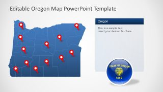 Slide of Location Template for Oregon