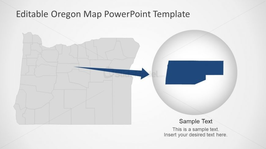 Zoom Style Presentation of Oregon