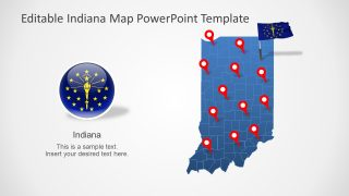 Presentation of Indiana and Counties