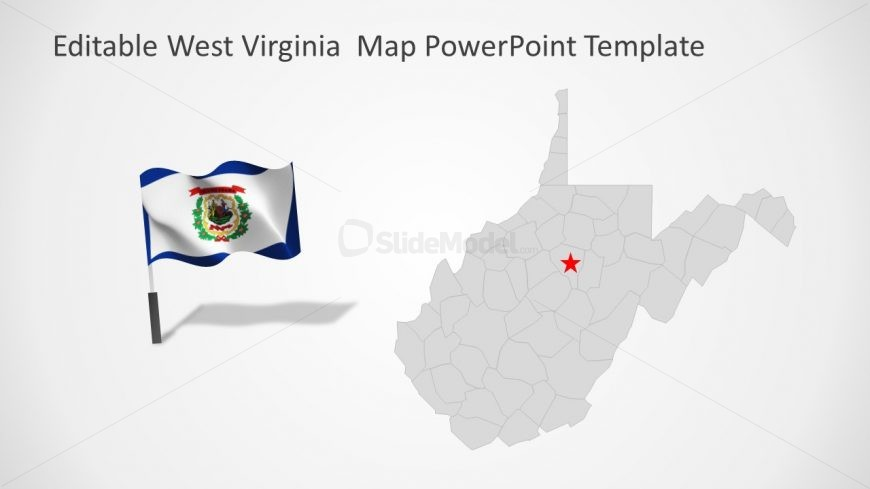 US State PowerPoint Map template