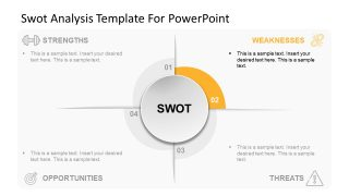 SWOT Analysis Slide of Weaknesses