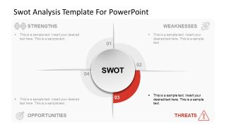 SWOT Analysis Slide of Opportunities