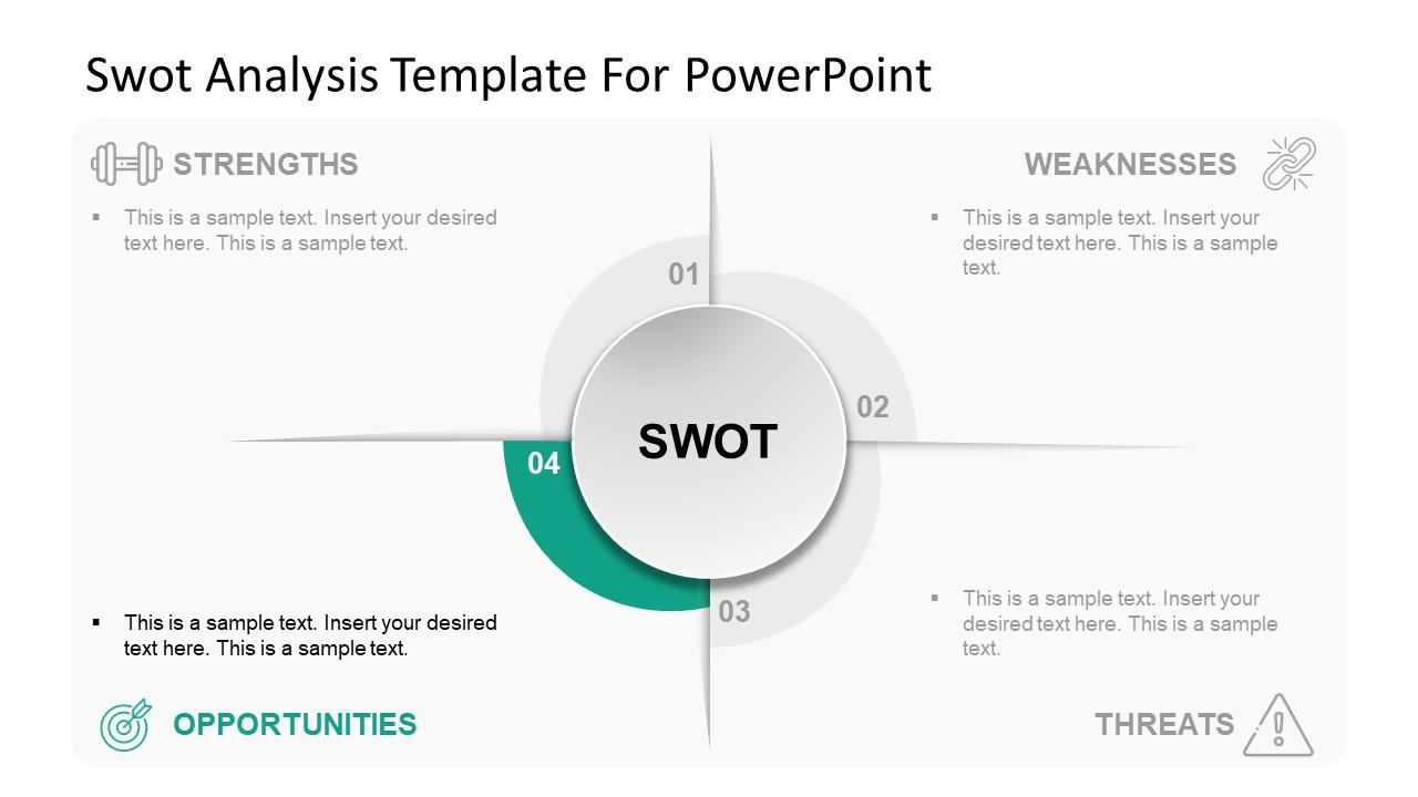 SWOT Analysis Slide of Threats