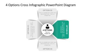 PowerPoint 4 Steps Diagram PPT