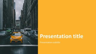 Taxi Presentation Image Cover