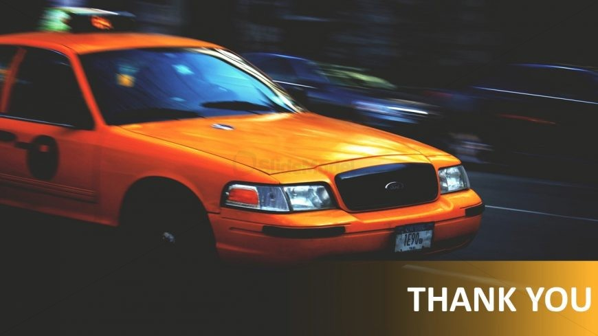Taxi Slide Deck Theme Presentation