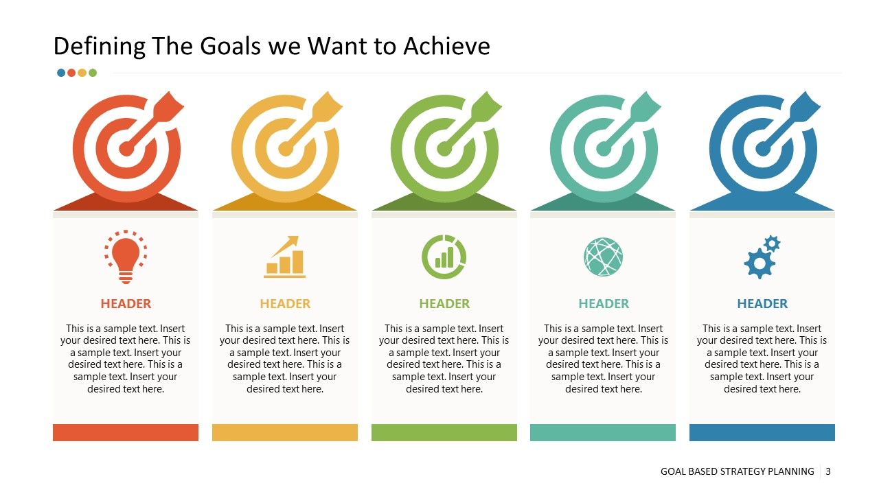 5 Goals of Business in PowerPoint