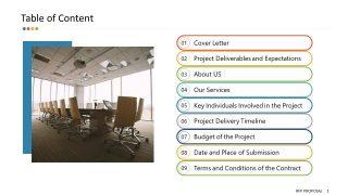 RFP Response Agenda Presentation