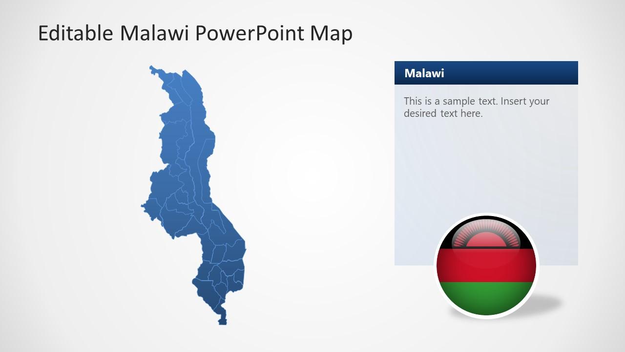 Presentation of Malawi Map Template