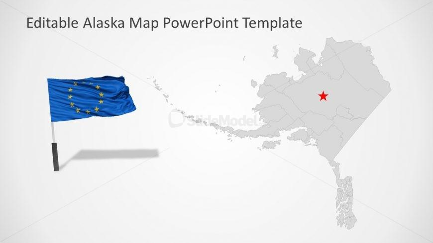 USA State Alaska PowerPoint