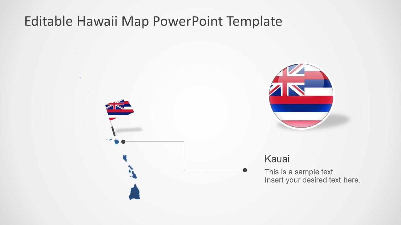 Templates of Hawaii Maps