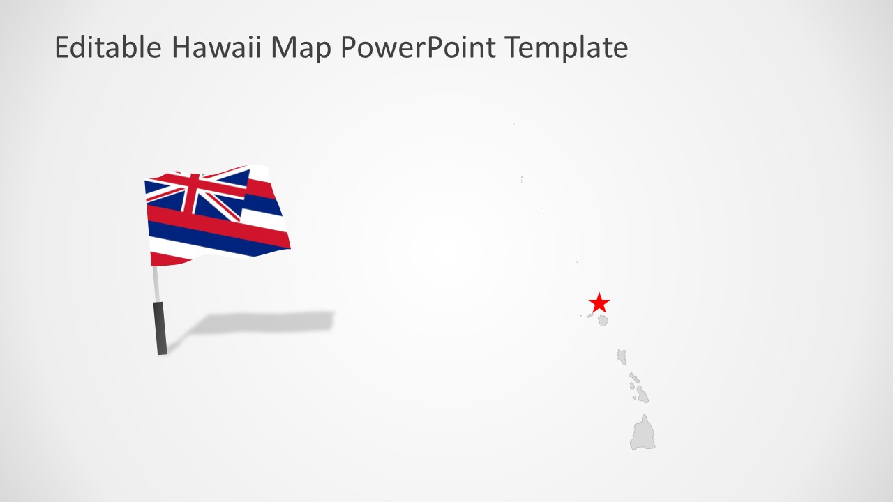 Islands and Maps of Hawaii Templates