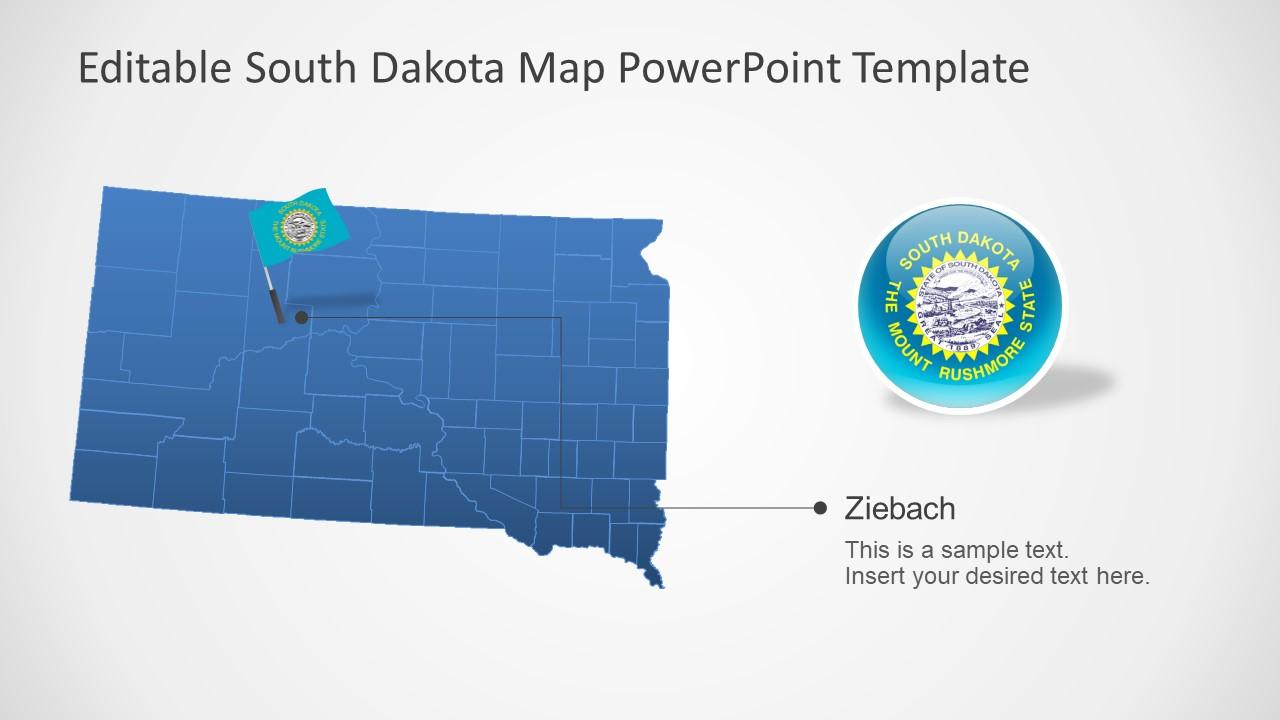 Presentation of USA State South Dakota