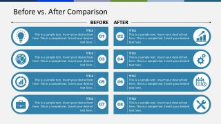 Templates of Before After Pros and Cons