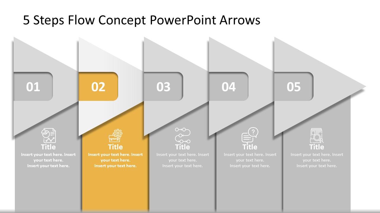PowerPoint Arrow Diagram Templates