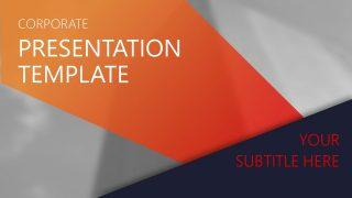 Orange Gradient PowerPoint Templates