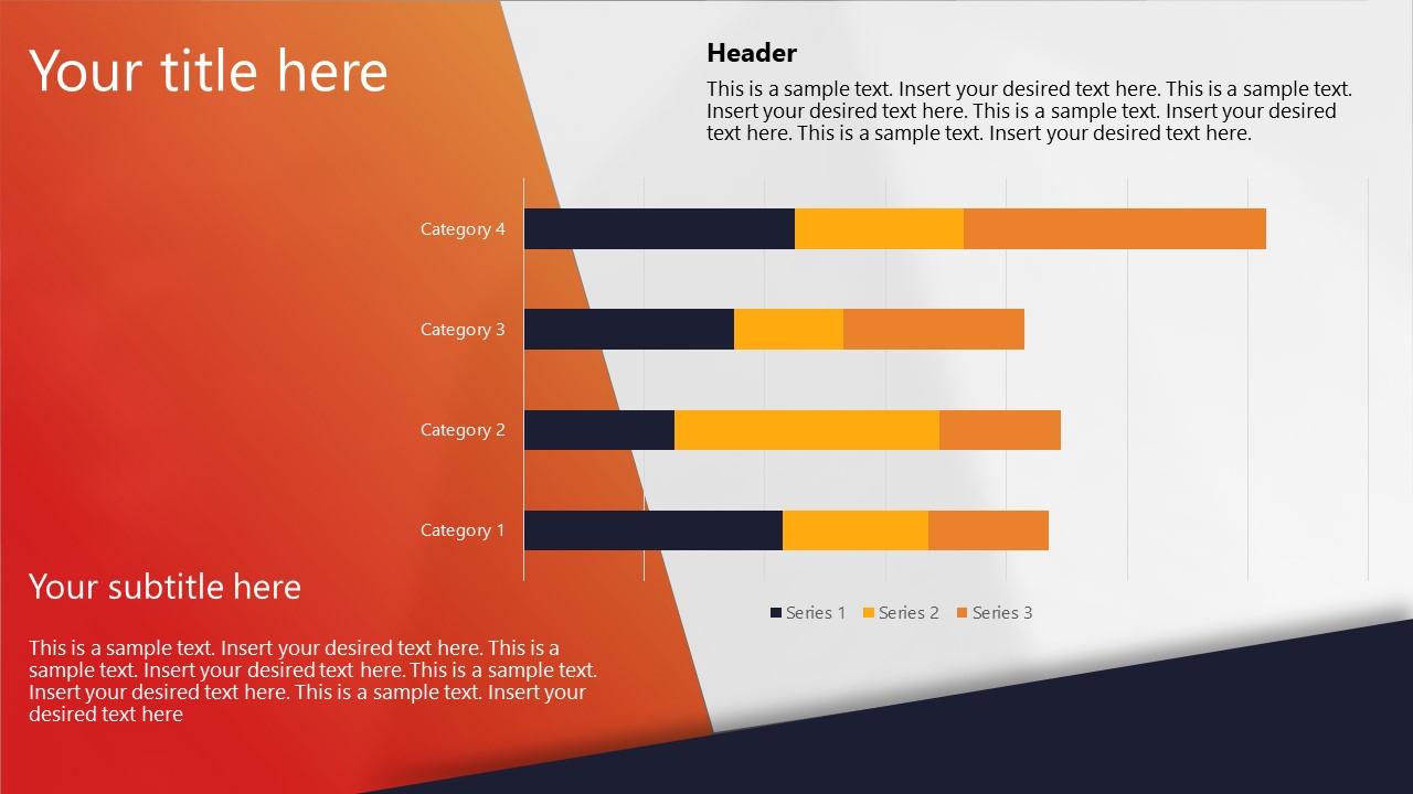 Presentation of Data Drive Stacked Bar Charts